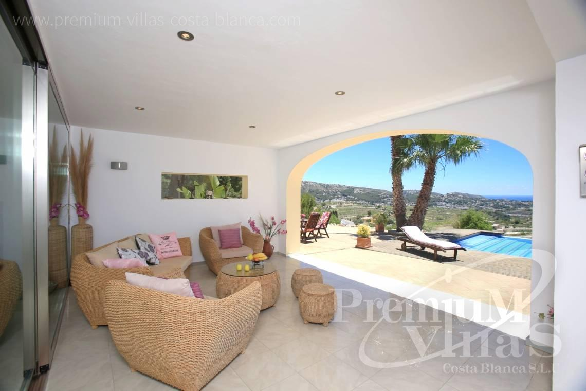 - C2199 - Moraira: Beautiful villa surrounded by vineyards with beautiful sea views. 4