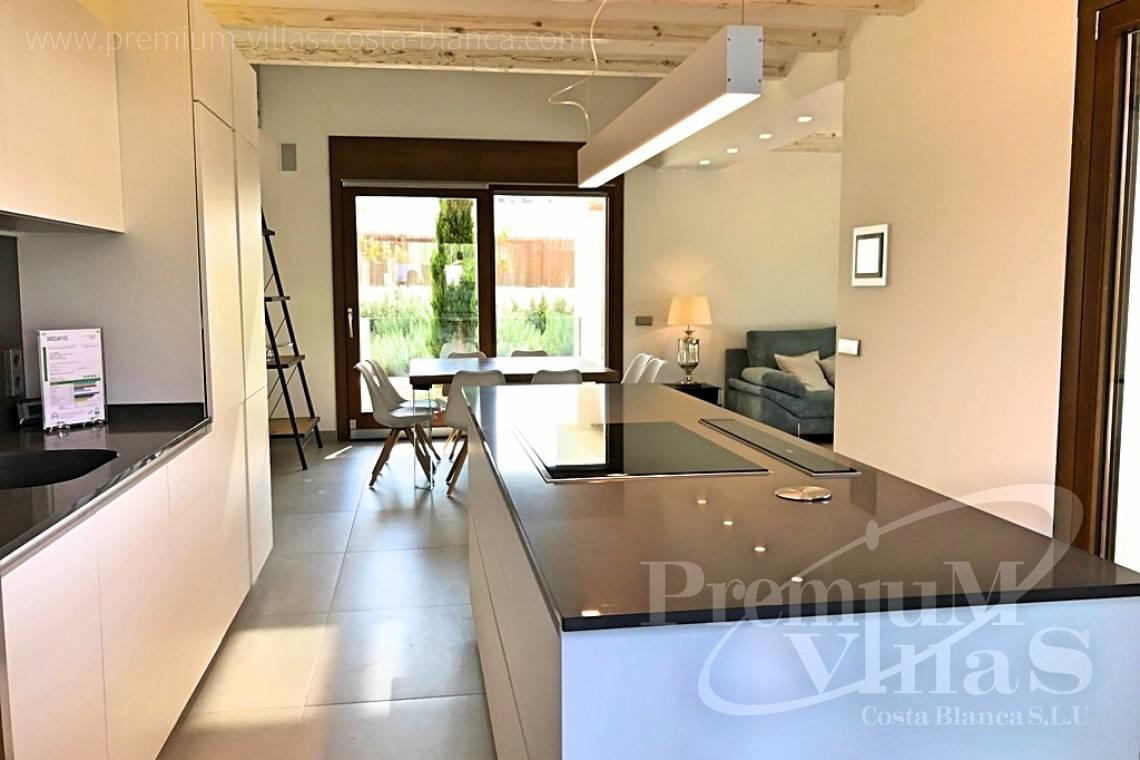 Kitchen in bioclimatic villa in Moraira - C2075 - Bioclimatic villa for sale 6