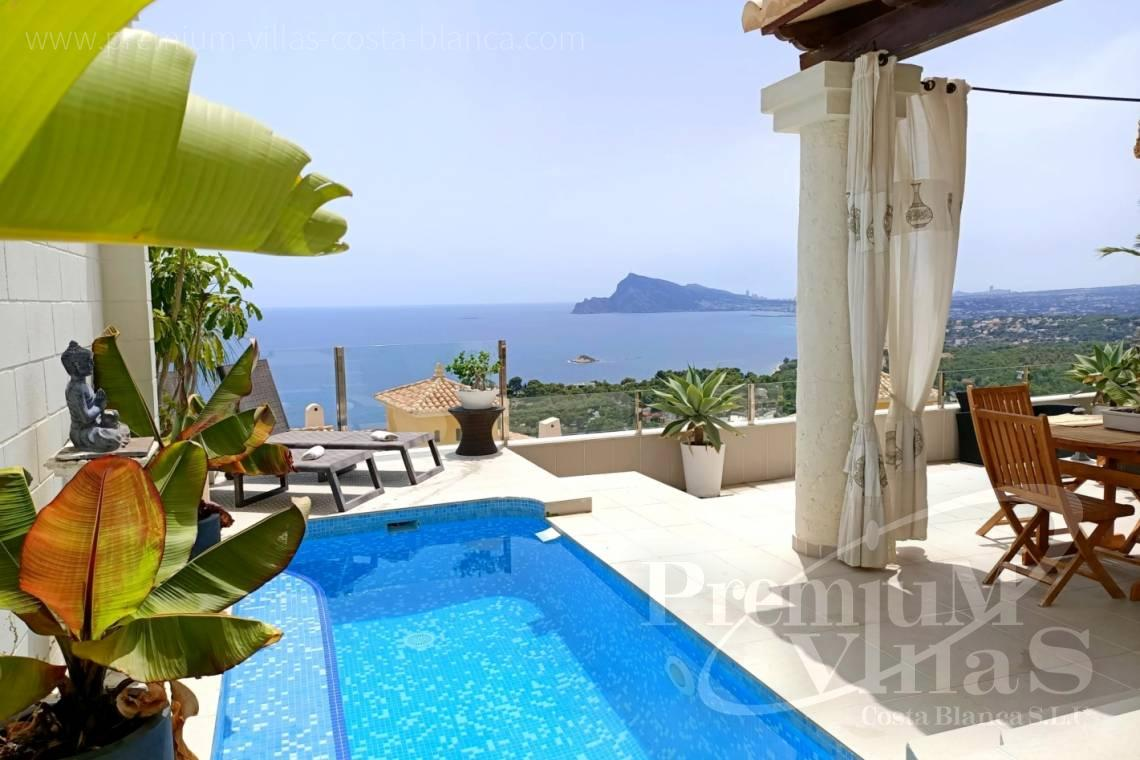 - C2438 - Semi-detached house with private pool in Altea Hills 1