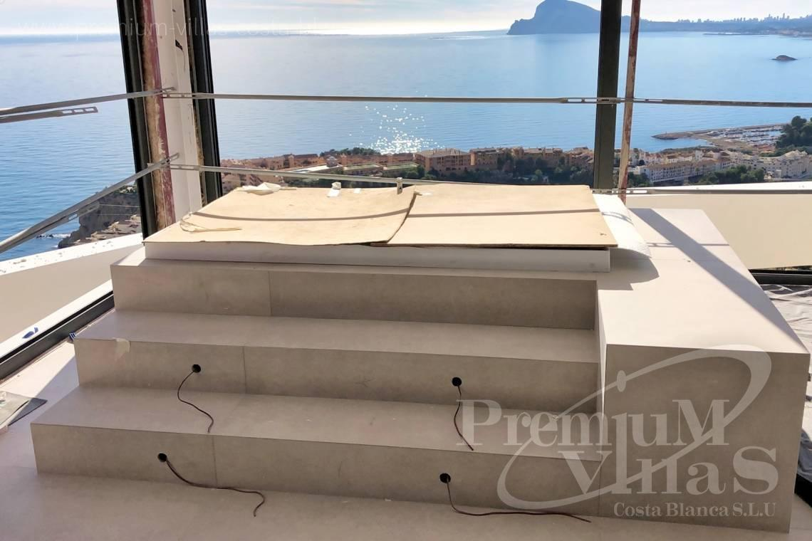 Villas for sale with sea views in Altea - C1852 - Luxury villa with amazing sea views 13