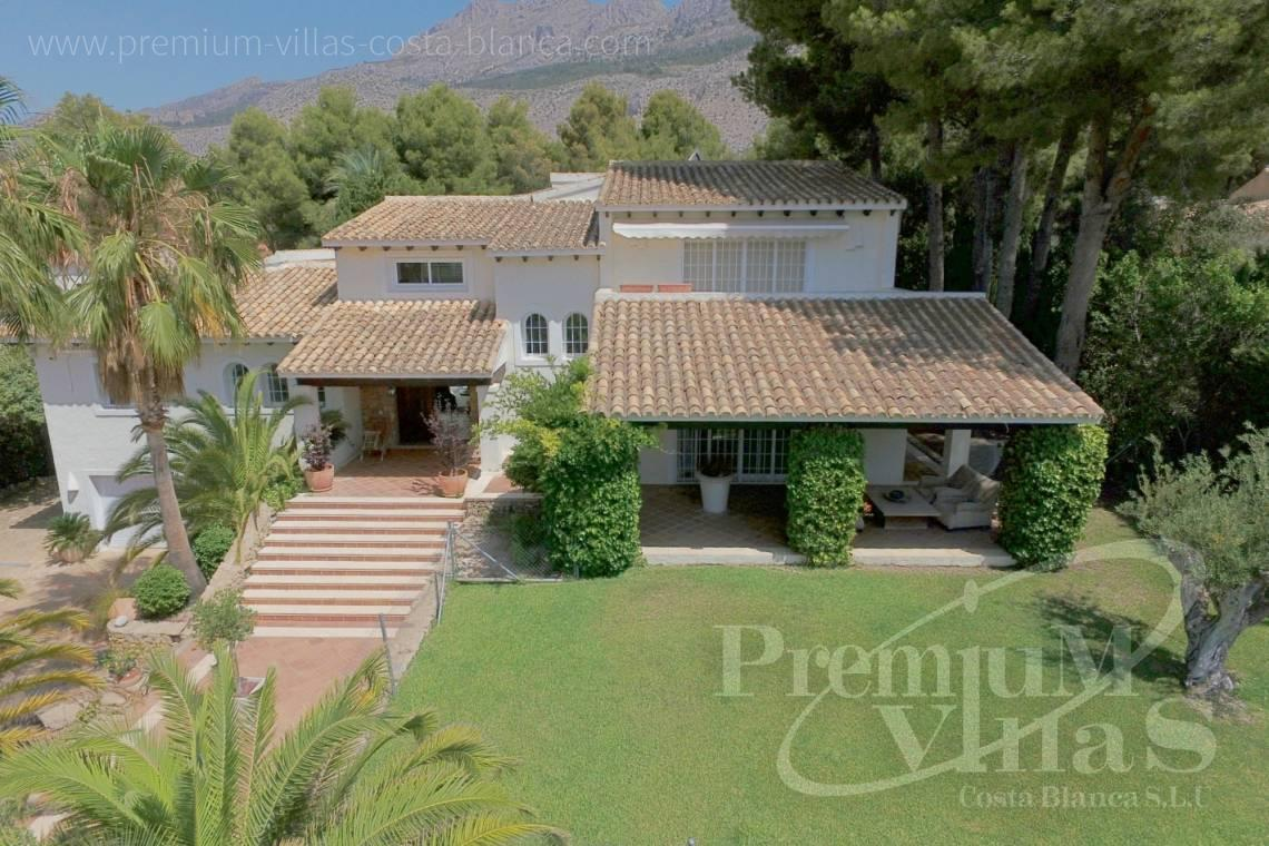 House near the golf course Don Cayo Altea Costa Blanca - C2157 - Huge villa in Altea very close to Don Cayo Golf Course 1