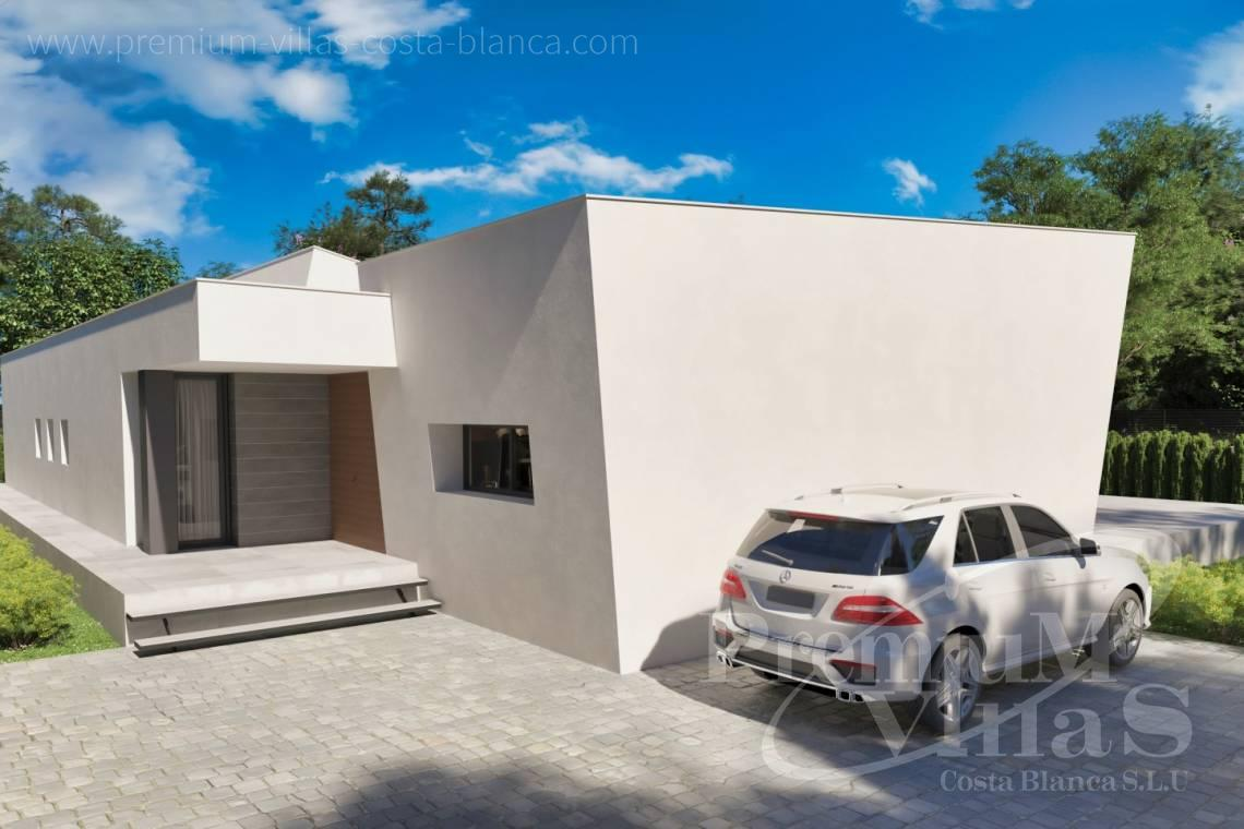 - C2441 - Modern new construction villa on one level in Calpe 6