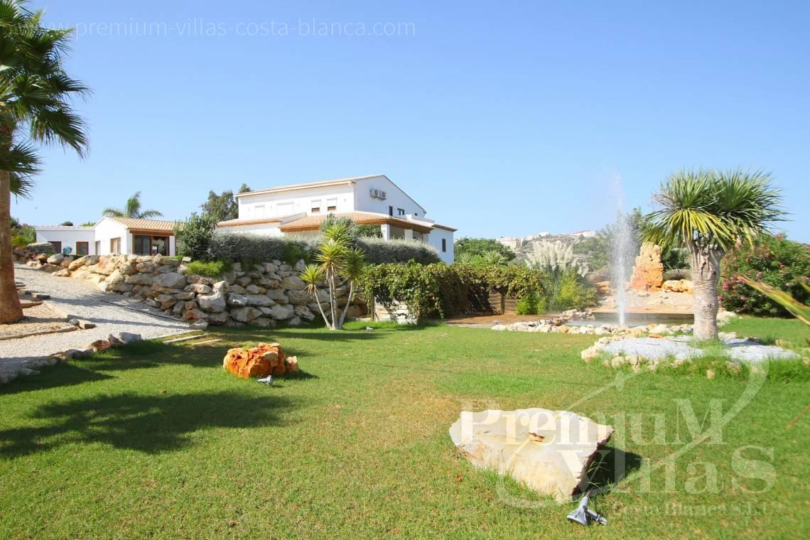 mansions for sale Costa Blanca Spain - C2417 - Amazing Finca in Benissa with a 13.000sqm flat plot and sea views 10