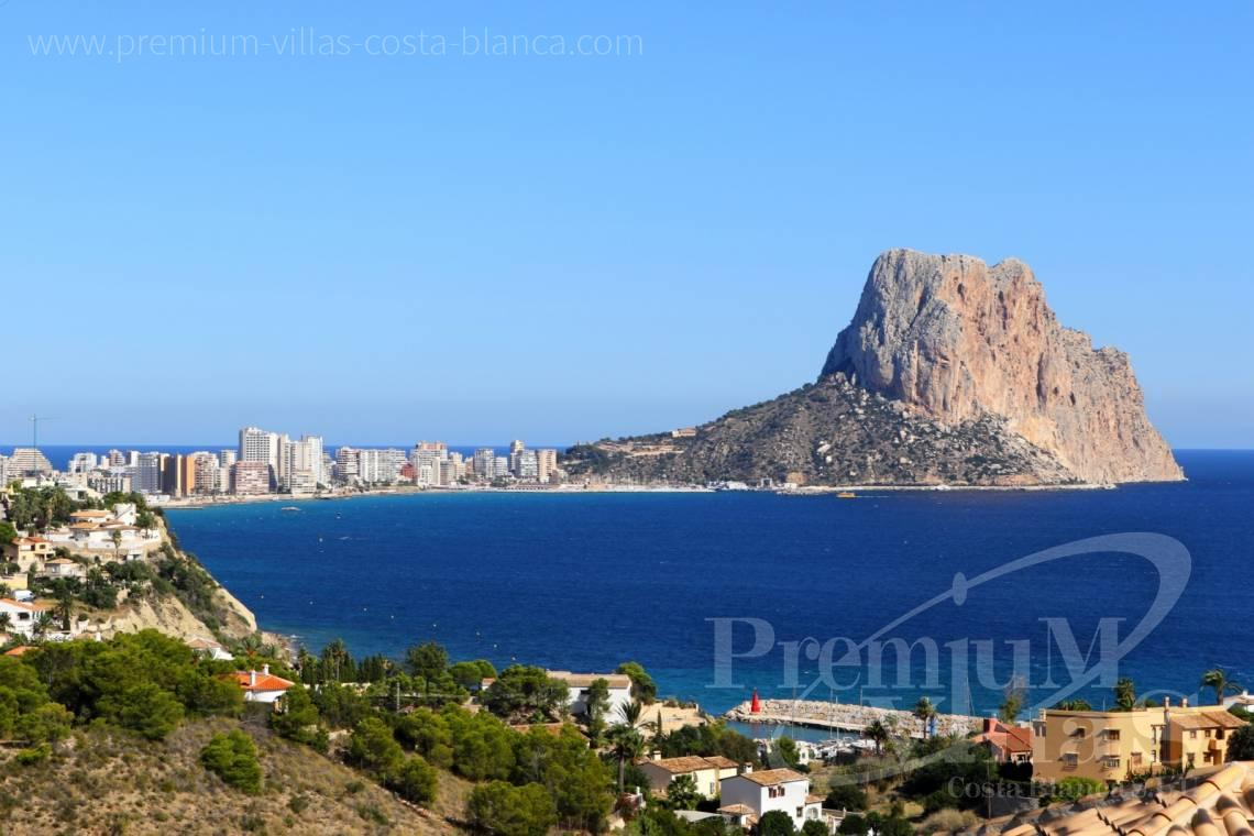 Terraced house with sea views in Urbanización Montesol Calpe - C2091 - Corner Bungalow in Urb. Montesol in Calpe 1