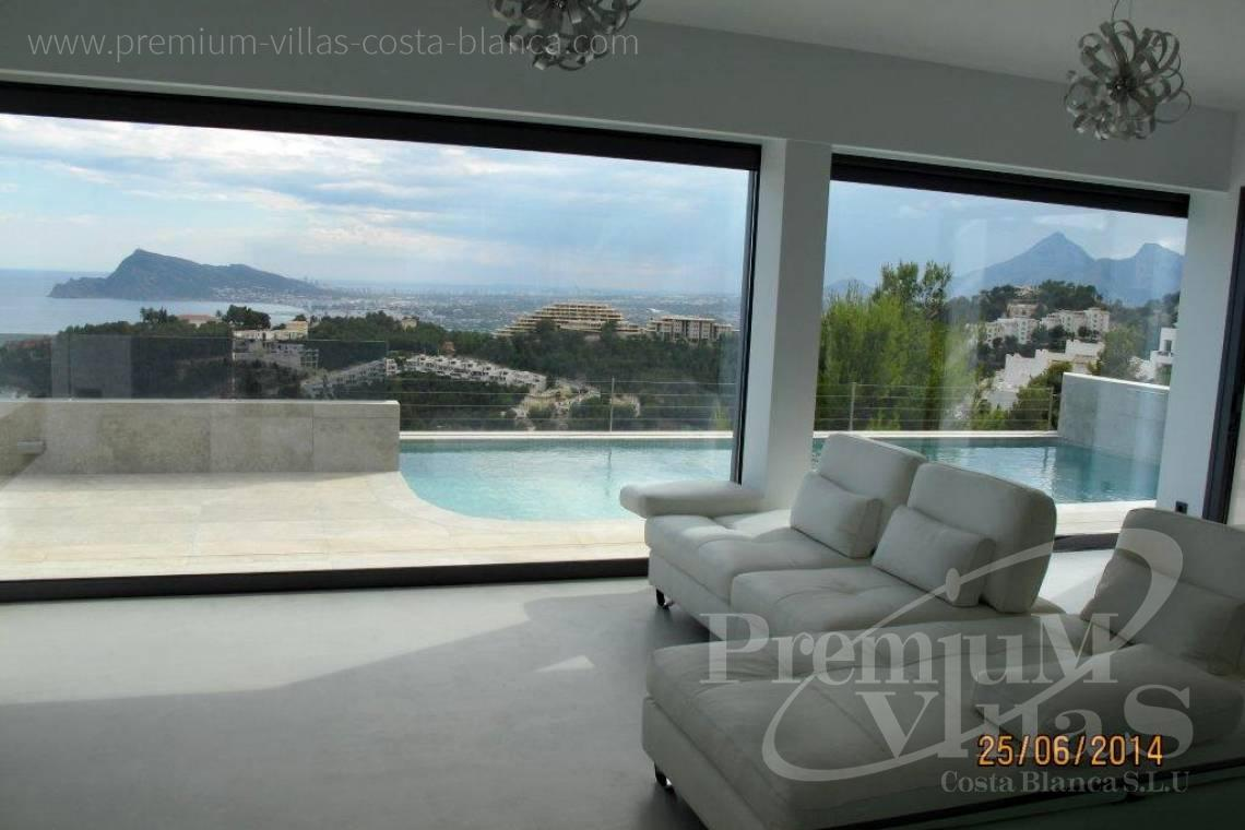 Villas for sale with sea views in Altea - C1855 - Luxury villa in Altea Hills with stunning sea views and two pools 21