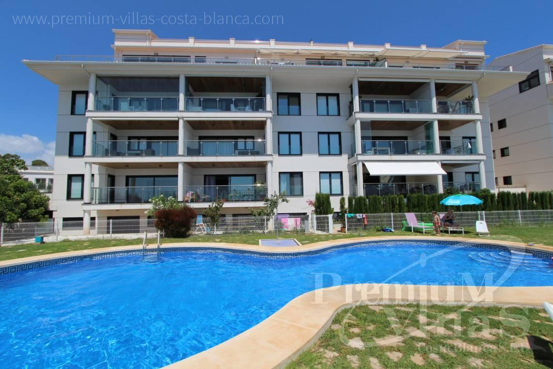 Buy apartment in urbanization Cap Negret 20 in Altea - A0657 - First line apartment in Cap Negret, Altea 2