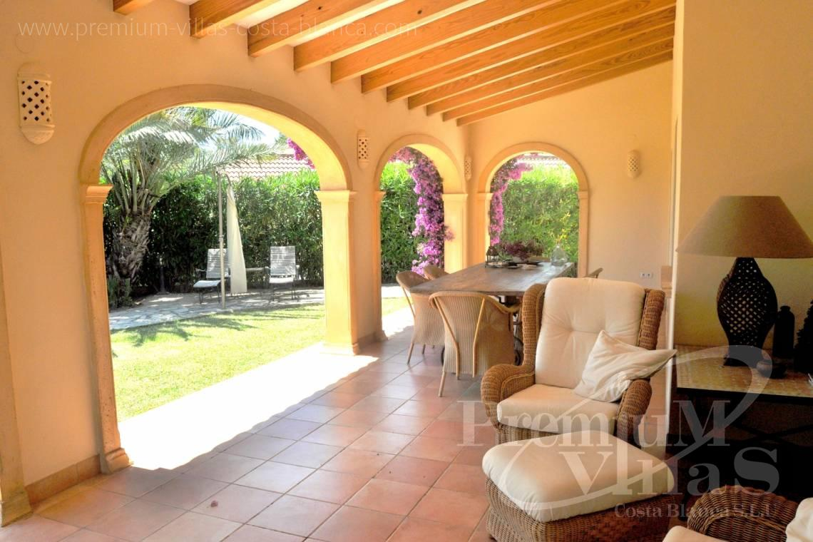 finca, land house for sale Benissa Costa Blanca - C2185 - Rustic villa in Benissa with sea views at 1.400m from the beach. 5