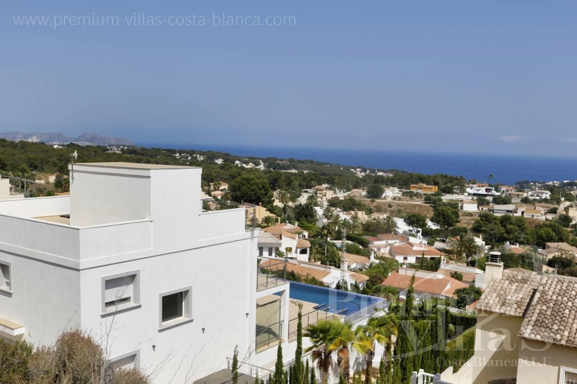 Buy villa with sea views in Calpe Costa Blanca - C1784 - Modern villa with a lift and great sea views in Calpe 31