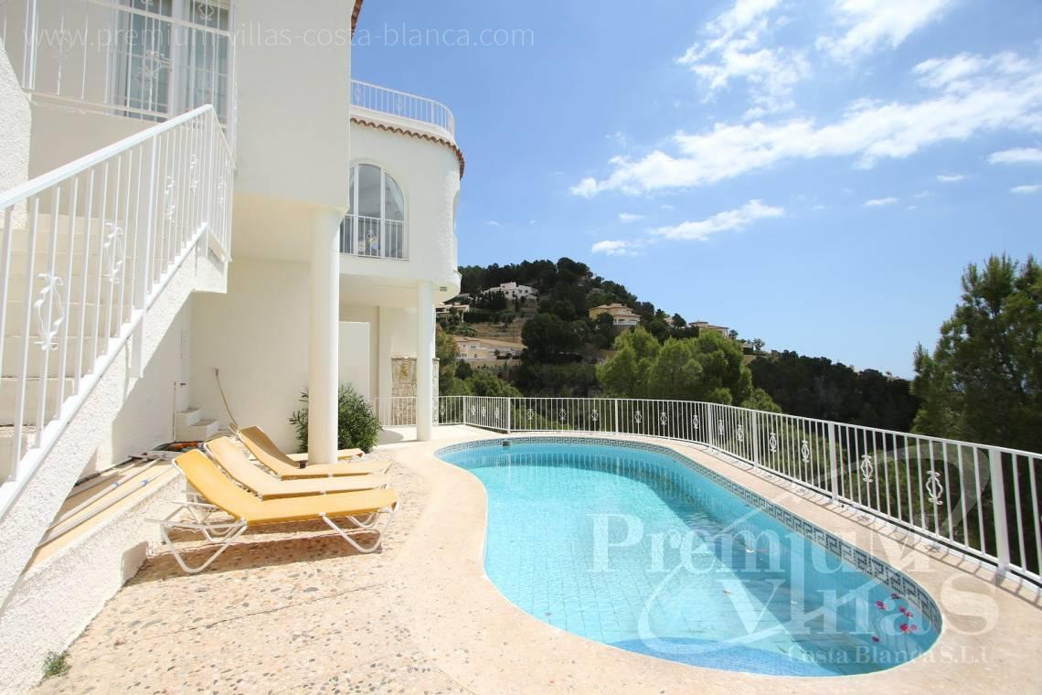 buy house villa Altea Costa Blanca Spain - C2055 - Villa with stunning sea views 3