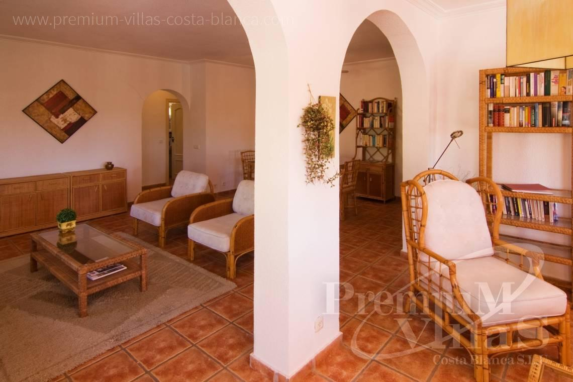 - C2129 - Privately located villa with sea view and beautiful garden in Altea 17