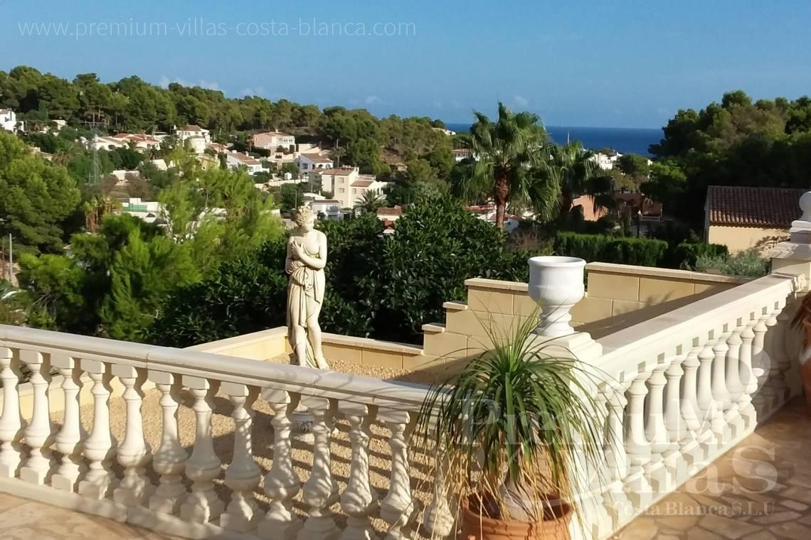 Buy villas houses sea view Benissa Costa Blanca - C2233 - Renovated villa 800m from La Fustera beach 1