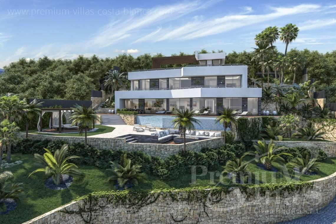 buy property Moraira Costa Blanca - C2000 - Modern luxury villa in Benissa for sale with stunning sea view 3