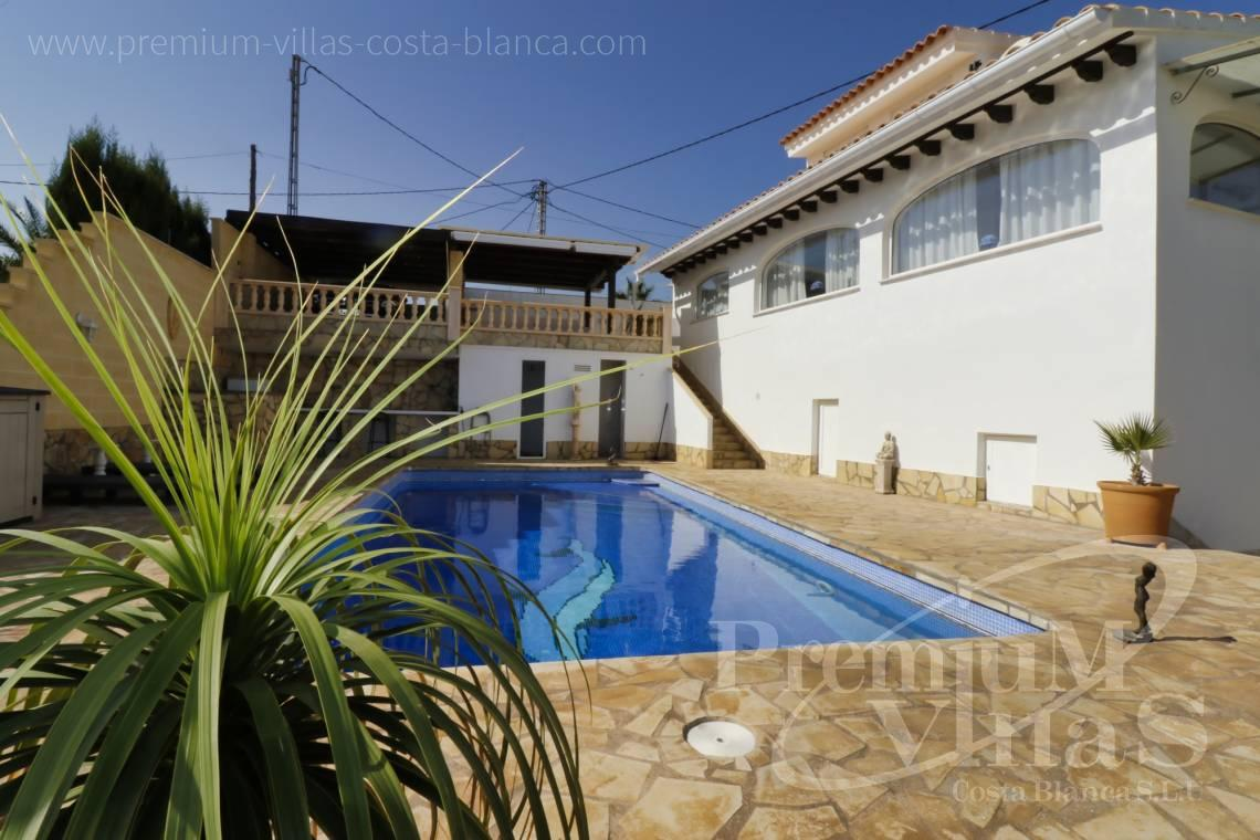 Buy villas houses sea view Benissa Costa Blanca - C2233 - Renovated villa 800m from La Fustera beach 2