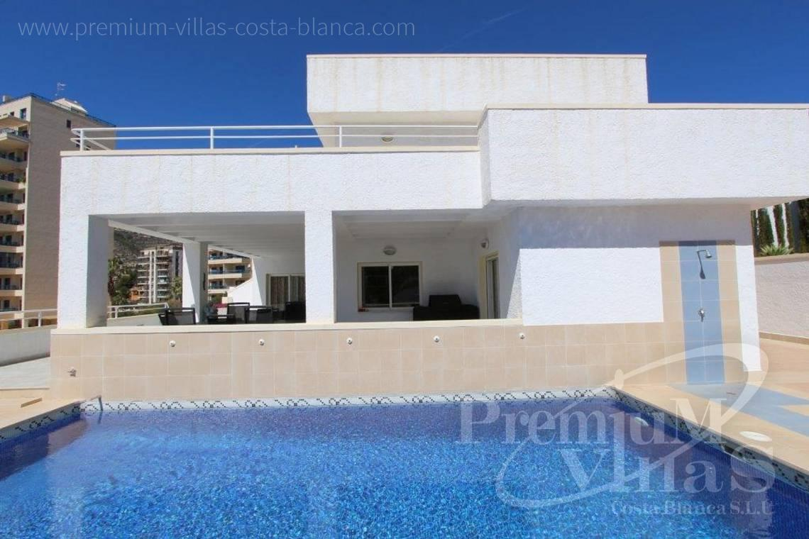 Buy modern villa in Calpe Costa Blanca - C1893 - Modern villa in Calpe,  well located near the old town and the sea. 3