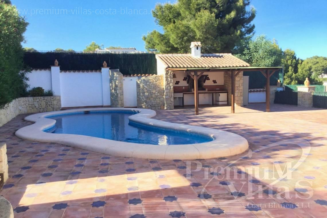 Buy house near the beach in Benissa Costa Blanca - CC2307 - Mediterranean house with sea views in Benissa Costa 3