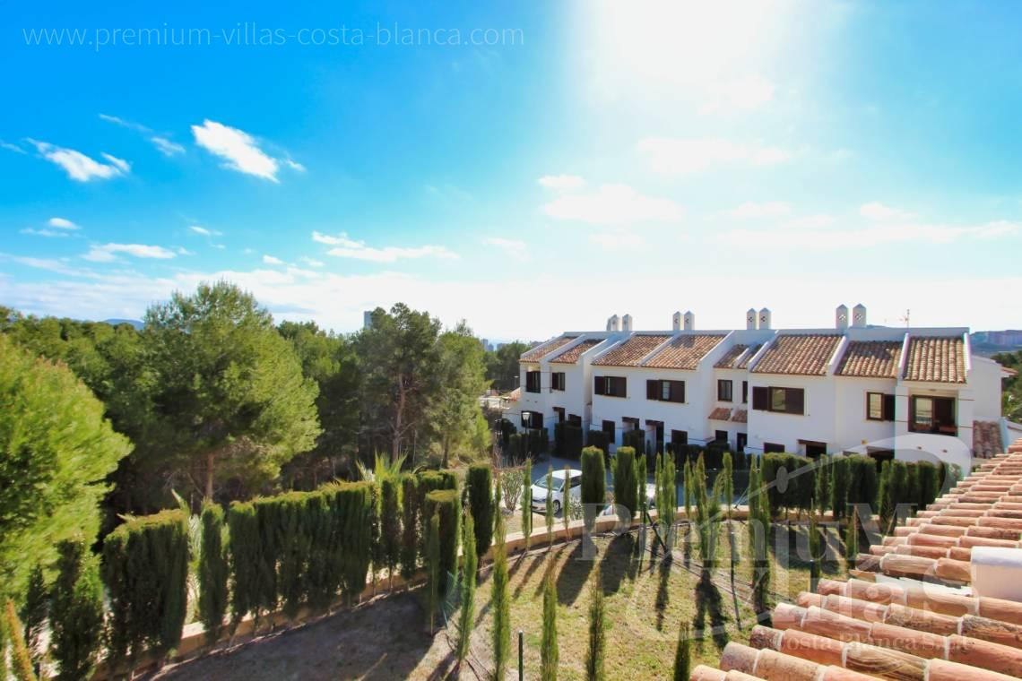 Newly built terraced houses for sale in Sierra Cortina Finestrat - C2269 - Newly built 3 bedroom terraced houses in Finestrat 2