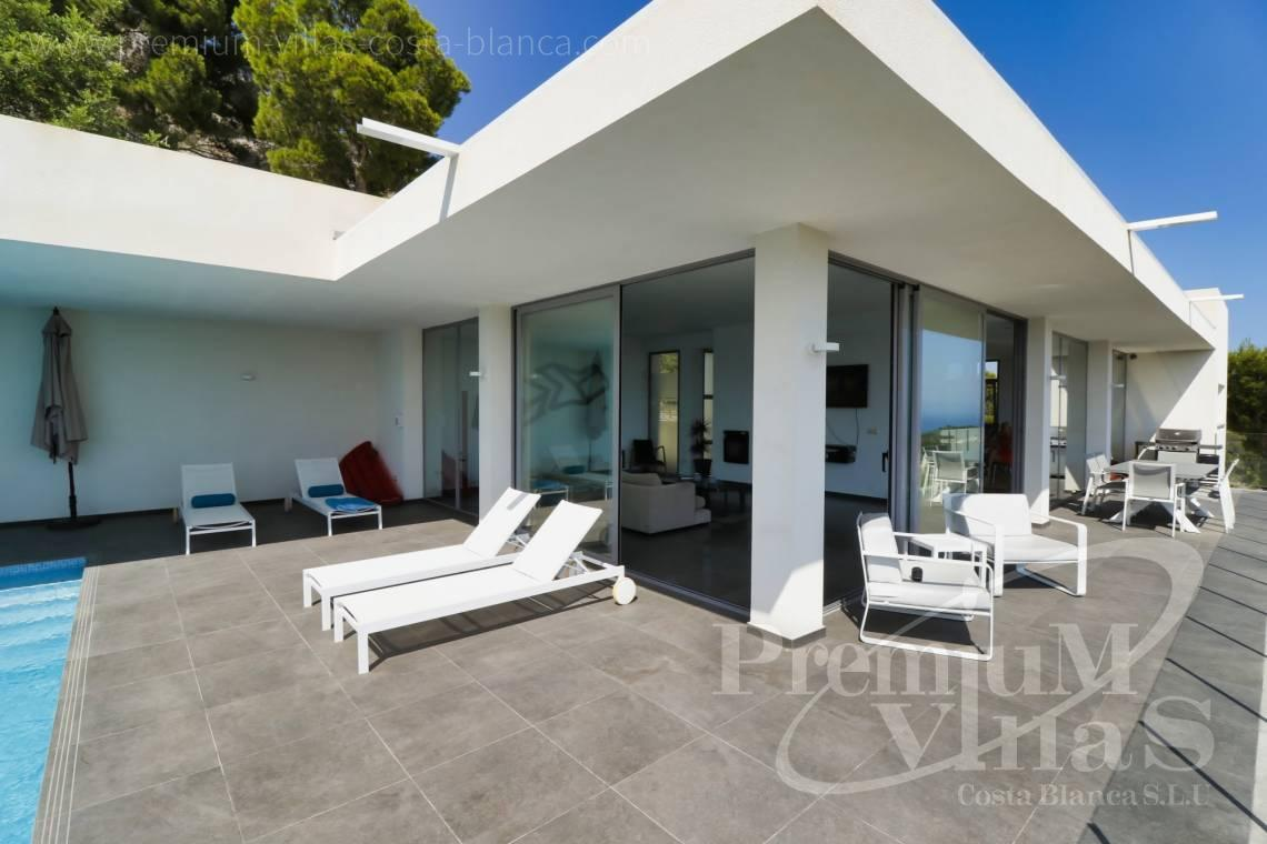 house villa for sale Altea Costa Blanca Spain - C2325 - Modern villa with sea views in Altea La Vella 8
