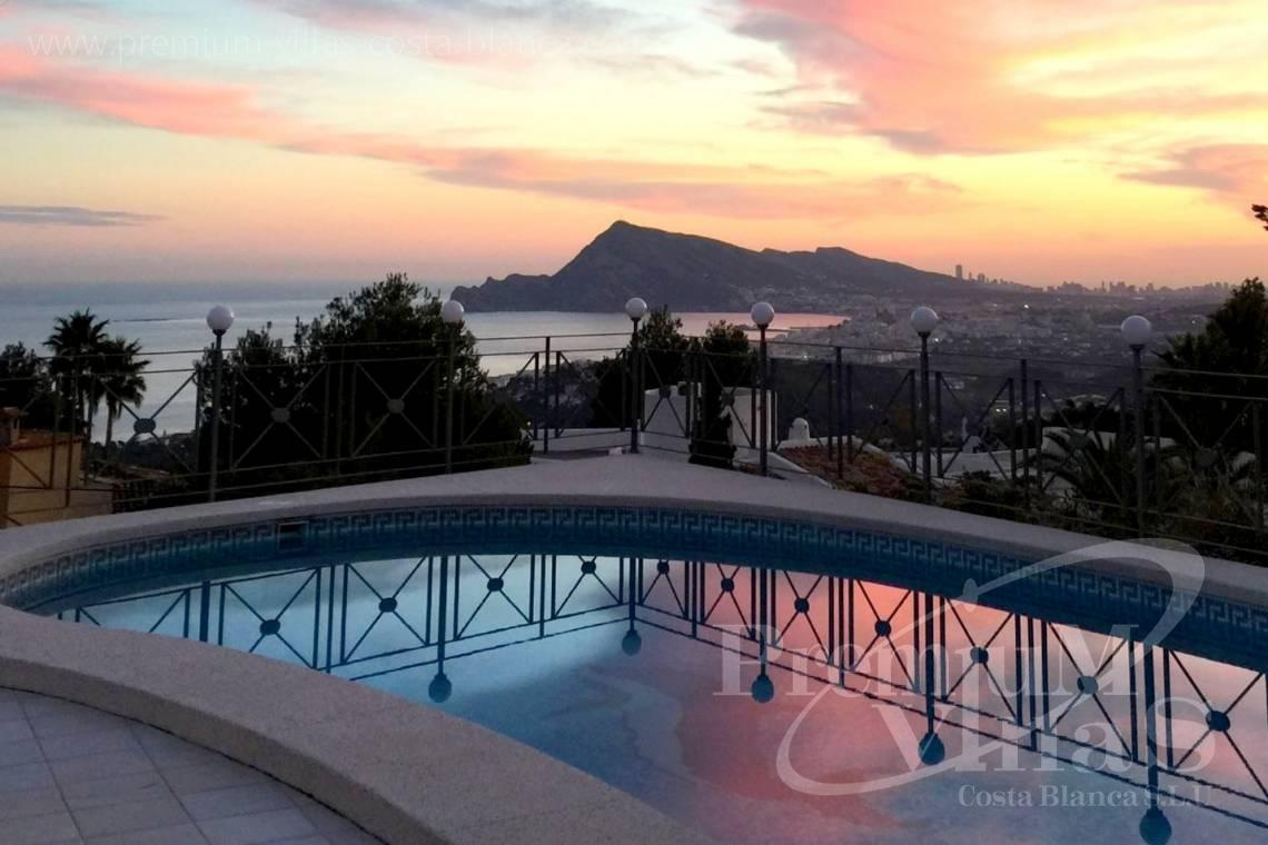 house villa for sale Altea Costa Blanca Spain - C2163 - Beautiful villa with guest studio and stunning views over the bay of Altea 6