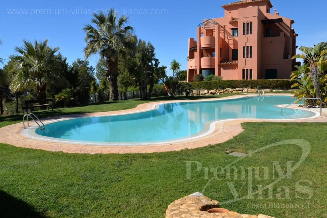 For sale apartment near the golf club in Finestrat Costa Blanca - A0640 - Ground floor with sea views in Finestrat 17