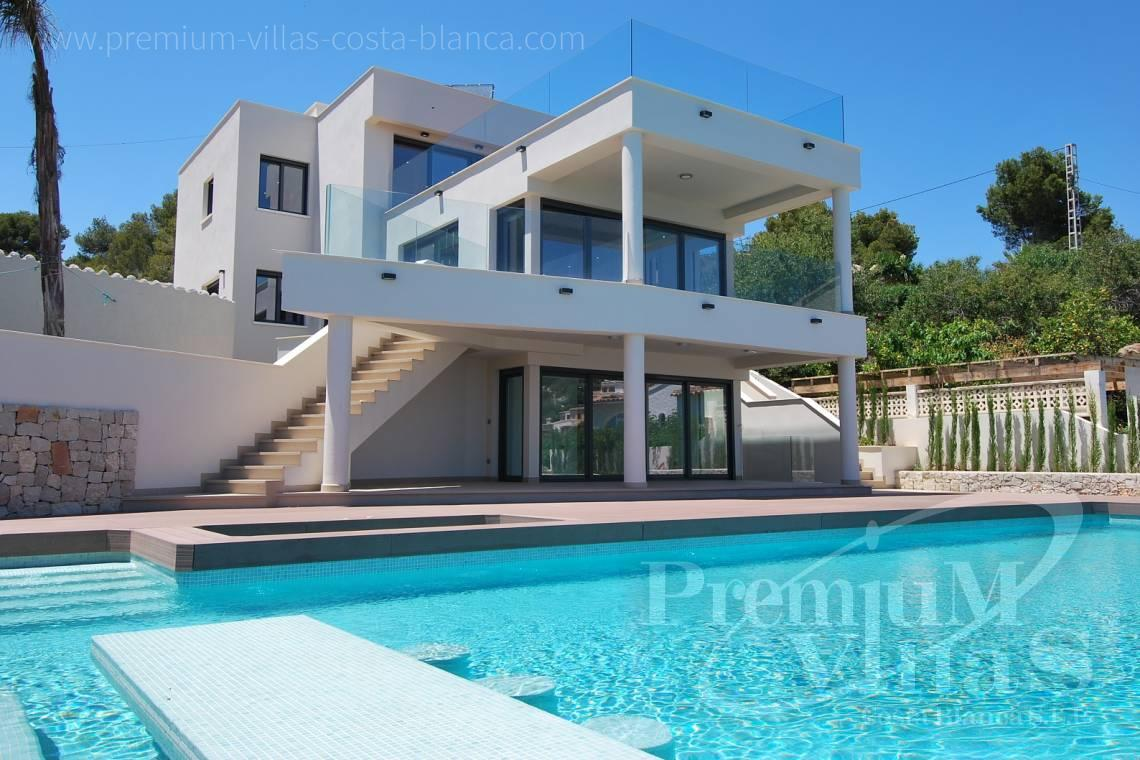 front line villa for sale Costa Blanca Spain - C1436 - Modern front line villa in Benissa with direct access to the beach 2