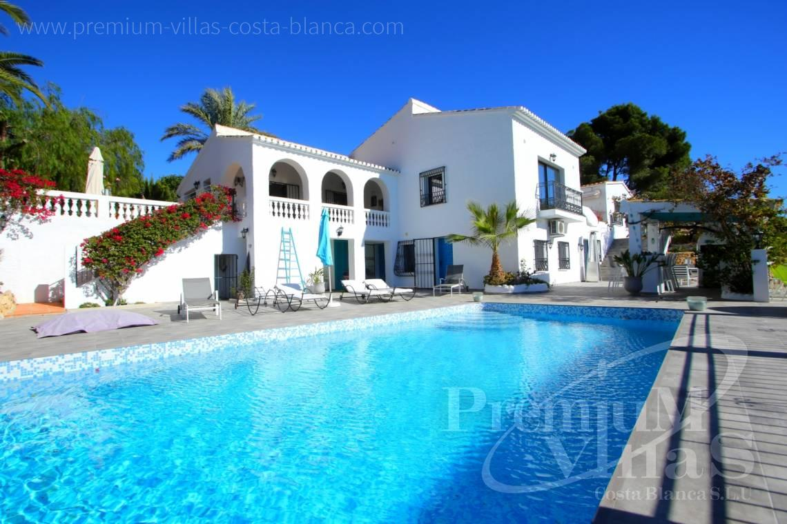 house villa for sale Altea Costa Blanca Spain - C2108 - Amazing villa near Altea Old town with sea views  2