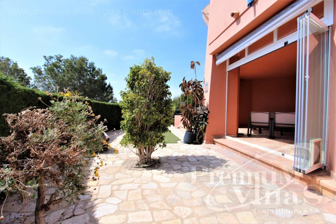 Buy apartment with garden in Finestrat Costa Blanca - A0640 - Ground floor with sea views in Finestrat 16