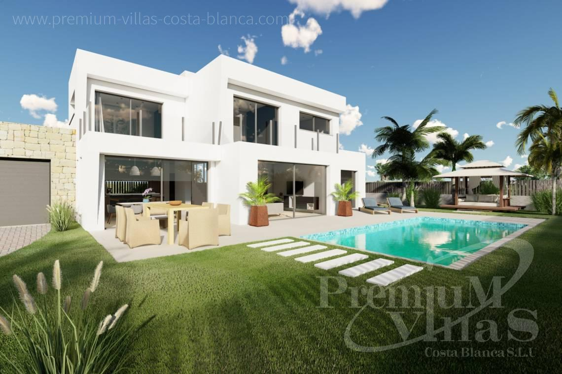 Modern villa for sale in Calpe Costa Blanca - C2312 - Modern 4 bedroom villa near the beach in Calpe 1