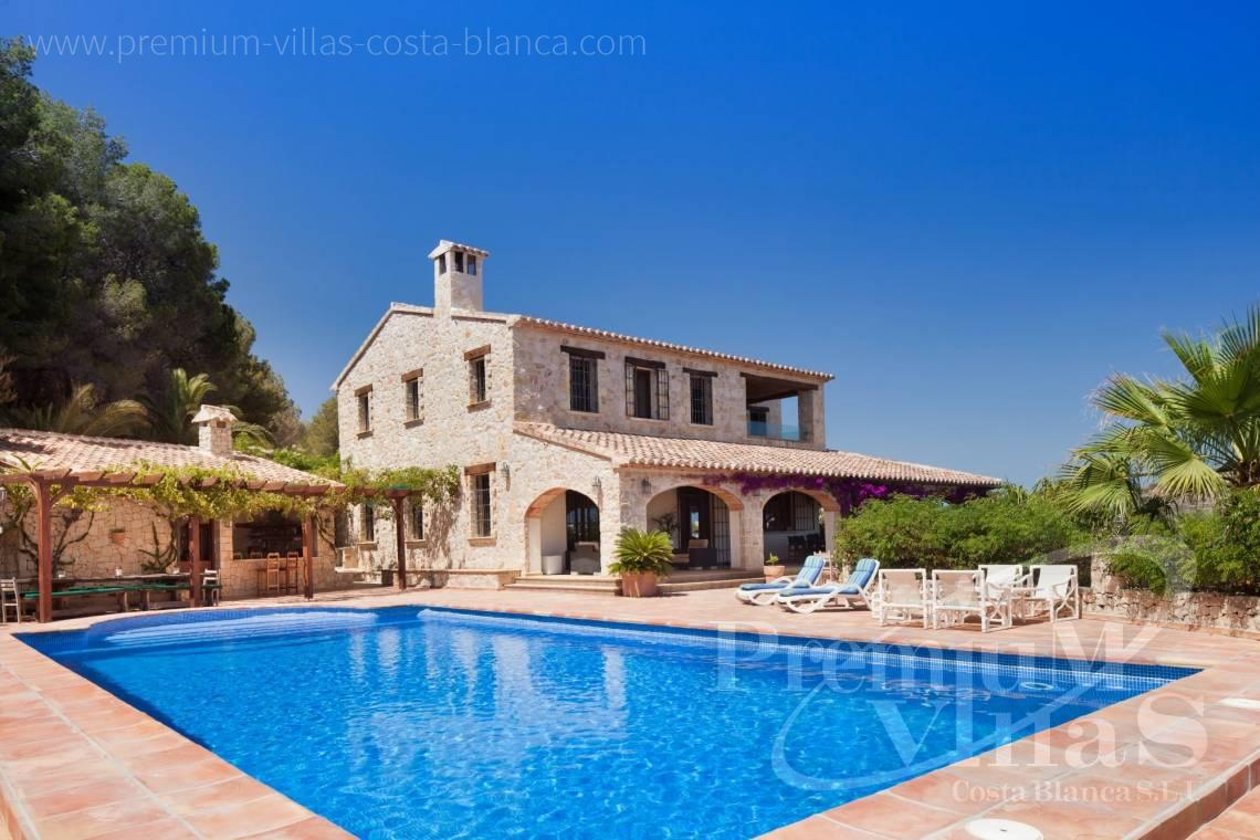 Finca with sea views for sale in Benissa Costa Blanca - CC2338 - Finca with sea views in Benissa 1