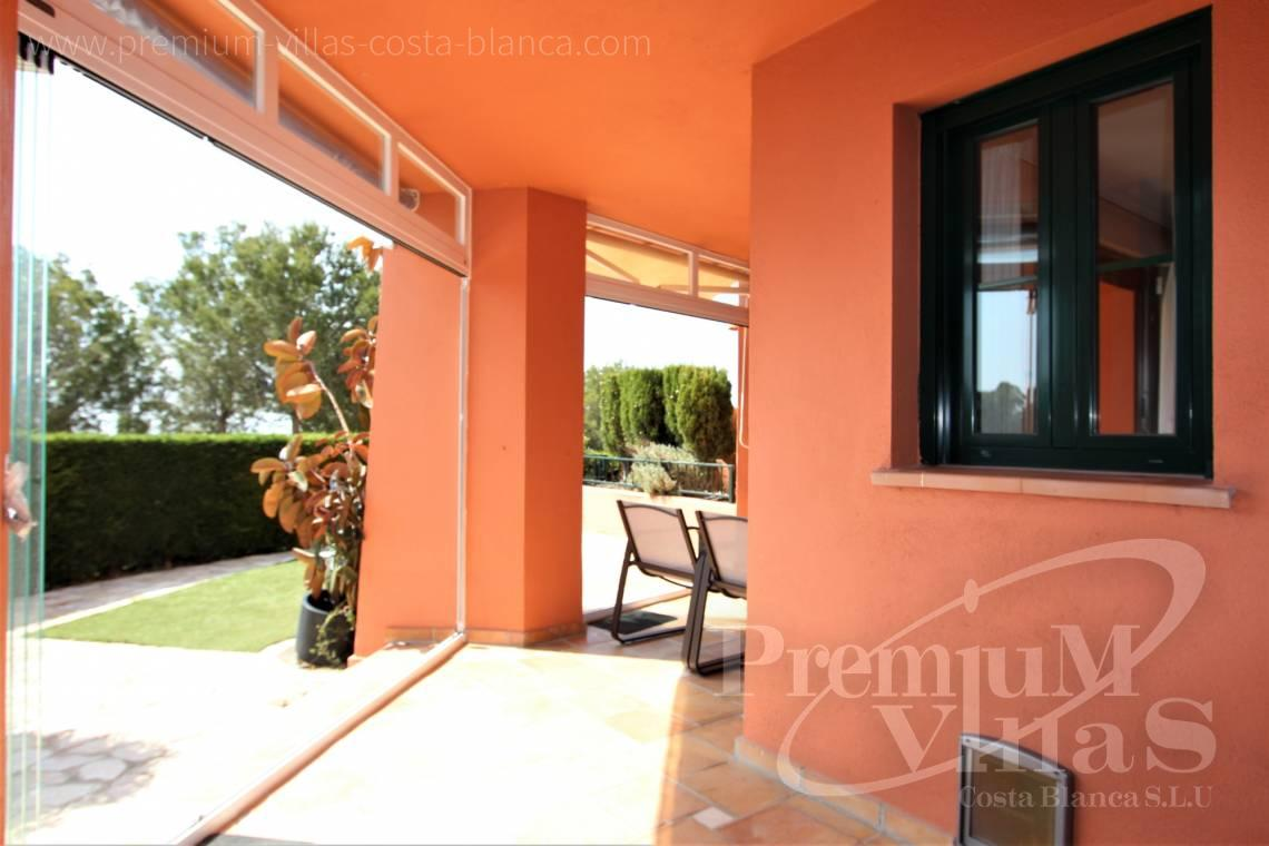Buy apartment with garden in Sierra Cortina Finestrat - A0640 - Ground floor with sea views in Finestrat 4