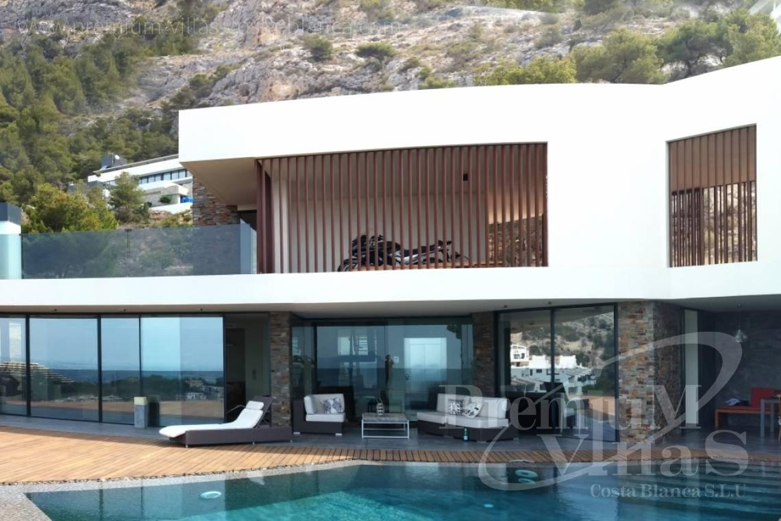 Buy house villa mansion luxury Altea Costa Blanca - C2173 - Ultra-modern villa in Altea Hills with elevator, spa and stunning sea views. 5