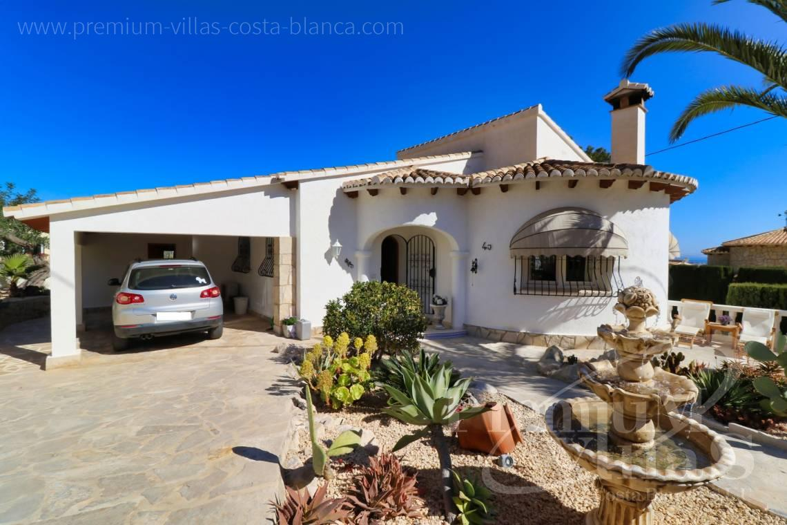 3 bedroom Mediterranean villa for sale in Calpe Spain - C2265 - Sea view mediterranean villa 3 bedrooms in Calpe 6