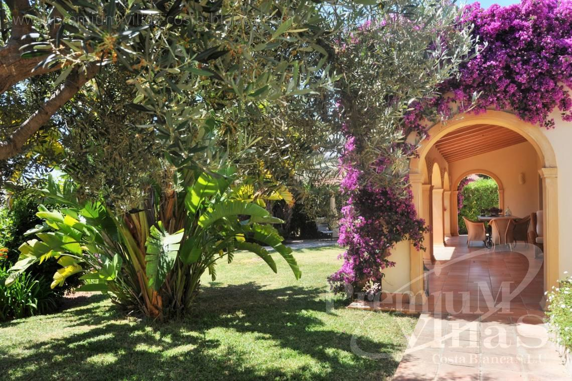 - C2185 - Rustic villa in Benissa with sea views at 1.400m from the beach. 4