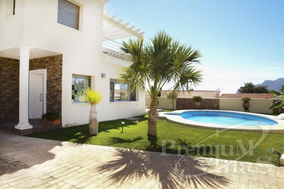 modern villas for sale Costa Blanca Spain - C2223 - Modern villa in Calpe close to the beach  2