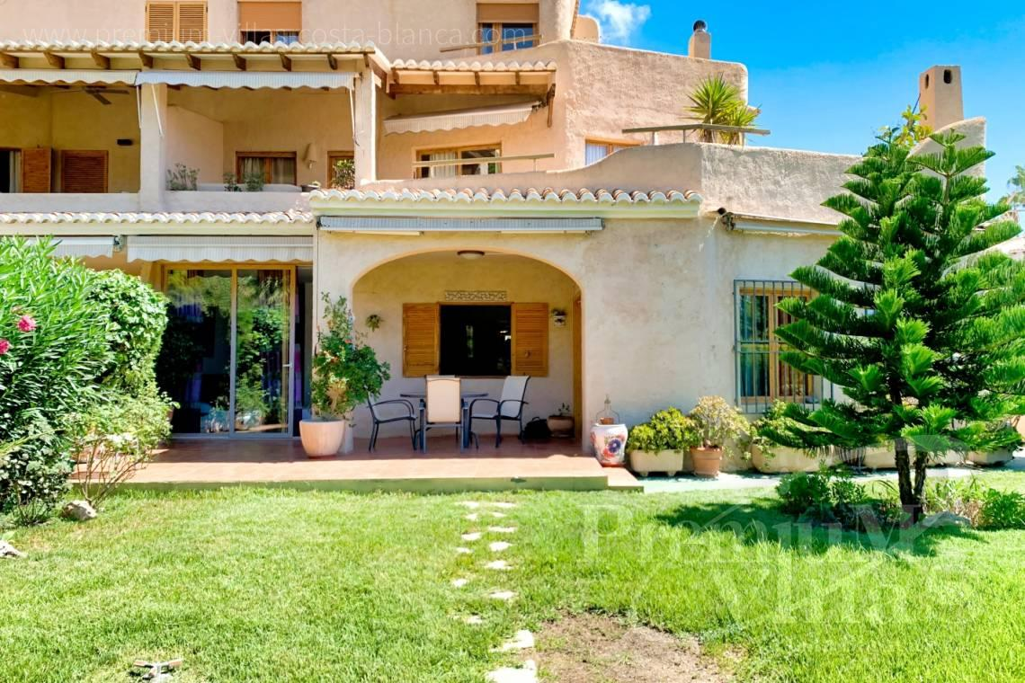- A0683 - Ground floor with large garden and sea views in Altea Hills 1