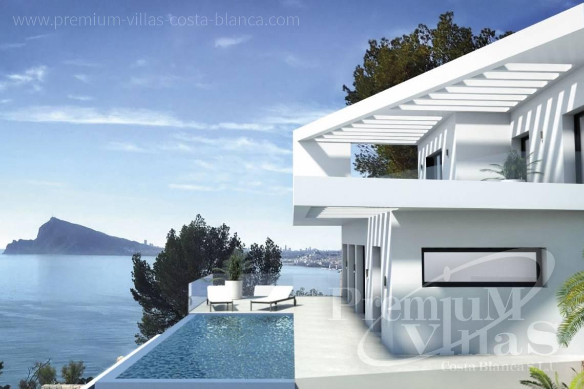 Buy house villa property Altea Hills Costa Blanca - C2149 - Modern villa in Altea Hills with stunning sea and bay views 1