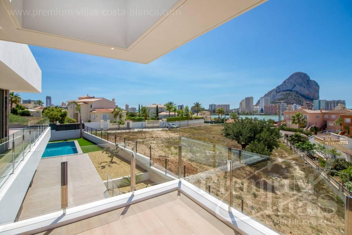 modern villas houses for sale Calpe Costa Blanca Spain - C2186 - New modern villa in Calpe, near the