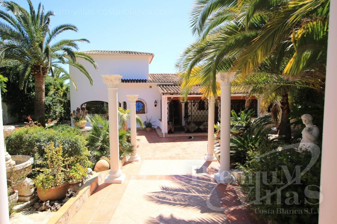 buy finca, land house Benissa Costa Blanca - C2151 - A real paradise on a double plot only 900m from the sea in Benissa 13