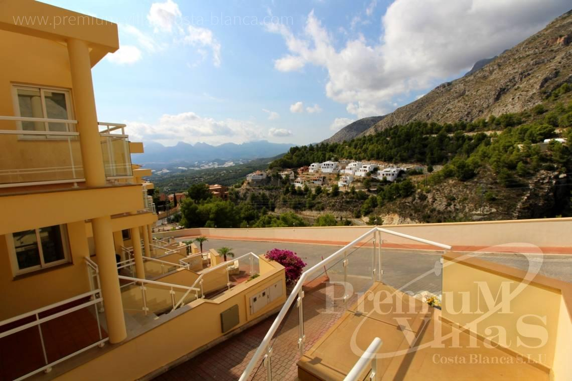 buy apartment  Altea Costa Blanca Spain - C2214 - Corner bungalow with panoramic sea and mountain views 13