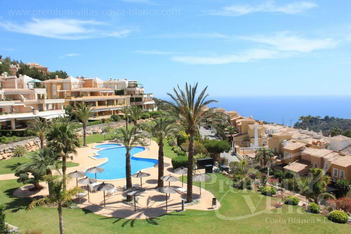- A0546 - Luxury apartment in Residential Ducado Real with stunning sea views in Altea Hills 28