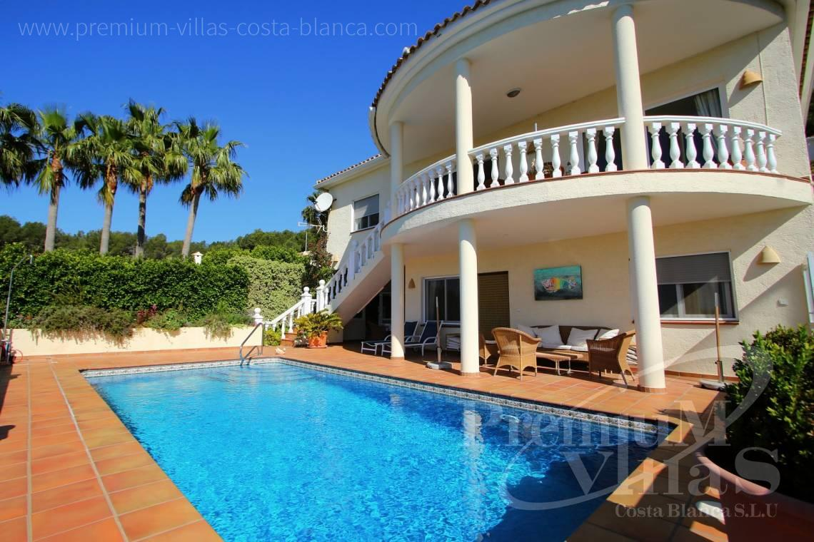 house villa for sale Altea Costa Blanca Spain - C2017 - Nice sea view villa with spacious guestapartment 2