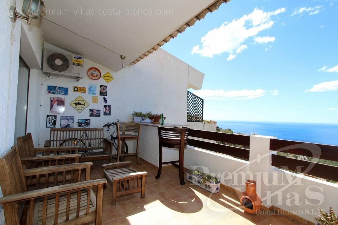 C1781 - Cozy corner townhouse with nice terraces, fantastic sea views in Altea Hills! 4