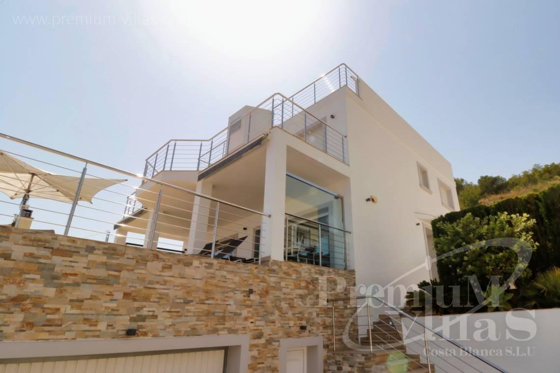 Villa for sale near the beach in Calpe Costa Blanca - C1784 - Modern villa with a lift and great sea views in Calpe 4