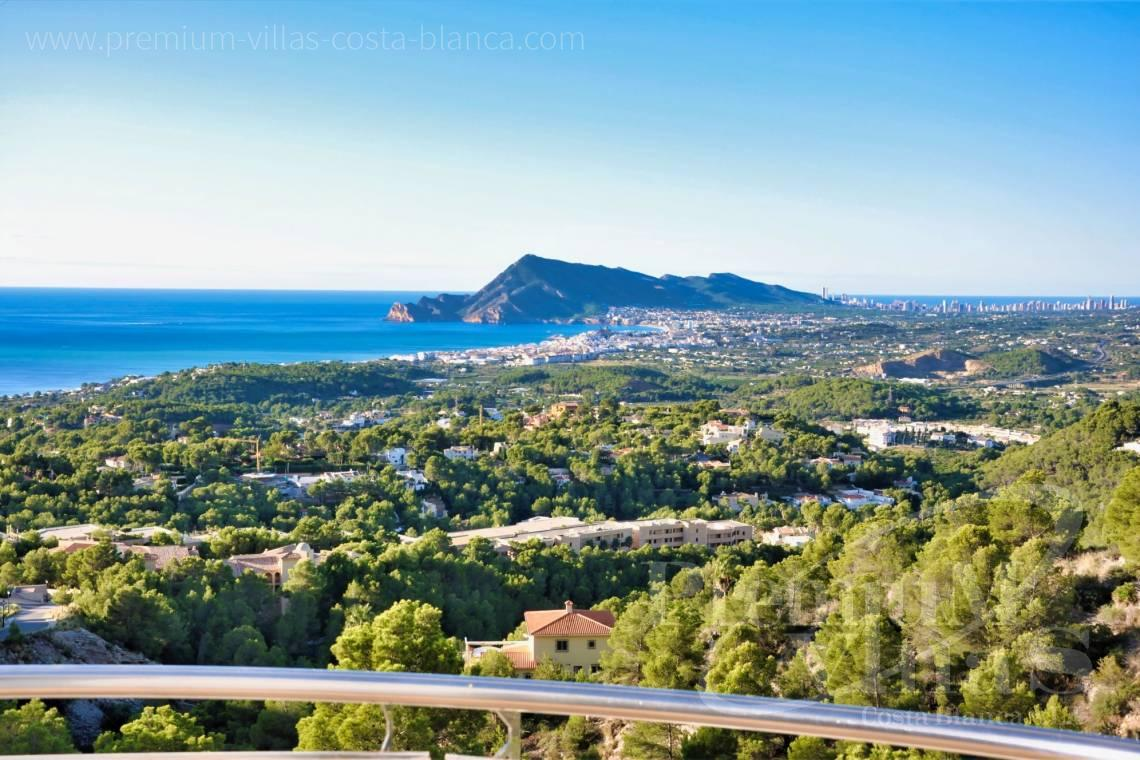 buy property Costa Blanca Spain - C2290 - Modern villas with private lift in the Sierra de Altea 2