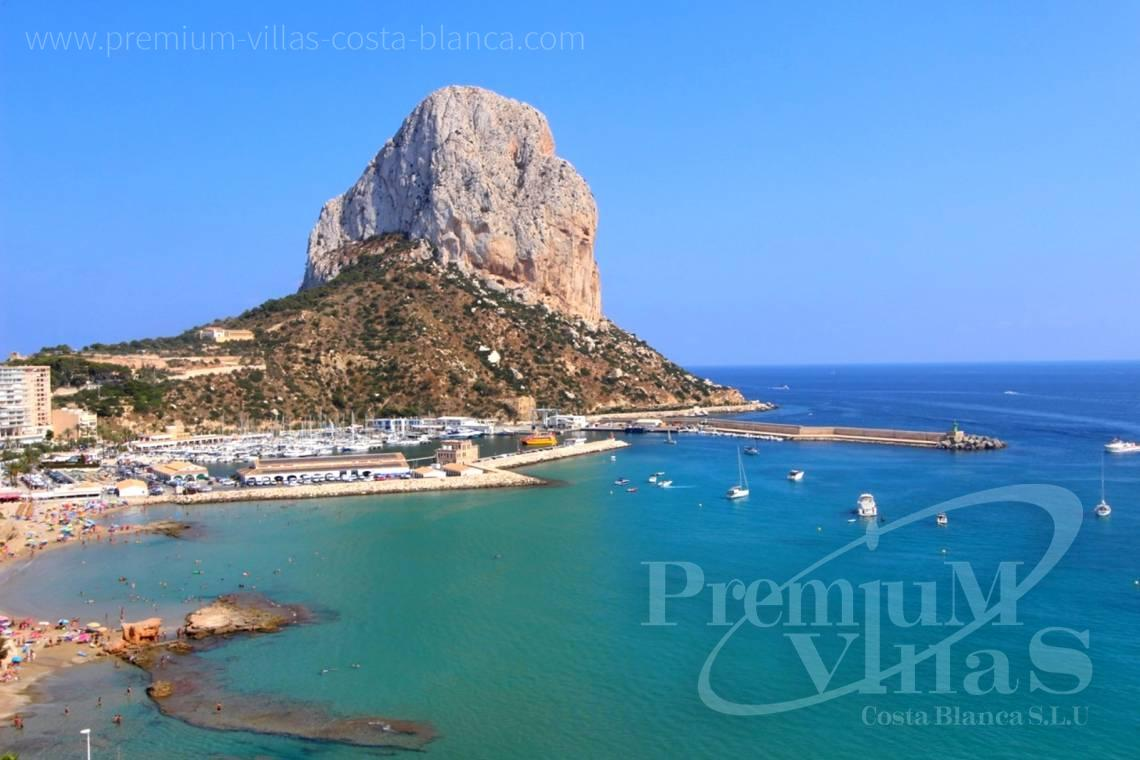 Apartment penthouse near beach sea views Calpe Costa Blanca - A0575 - Apartment in front of the sea with spectacular views of Ifach Rock. 3