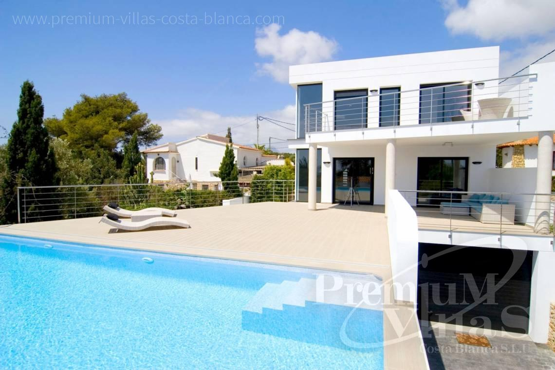 Modern 4 bedroom villa in Benissa Costablanca - C2002 - Modern villa for sale near the sea 3