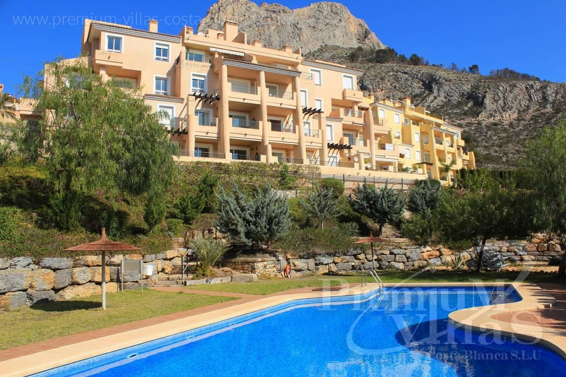 buy 2 bedrooms apartment  Altea Costa Blanca Spain - A0445 - Mascarat! Nice 2 bedroom apartment close to the beach with sea views 3