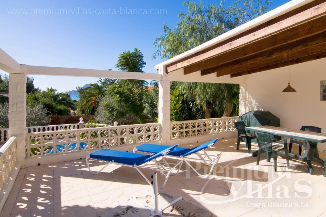Villas for sale with sea views in Altea - C2129 - Privately located villa with sea view and beautiful garden in Altea 5