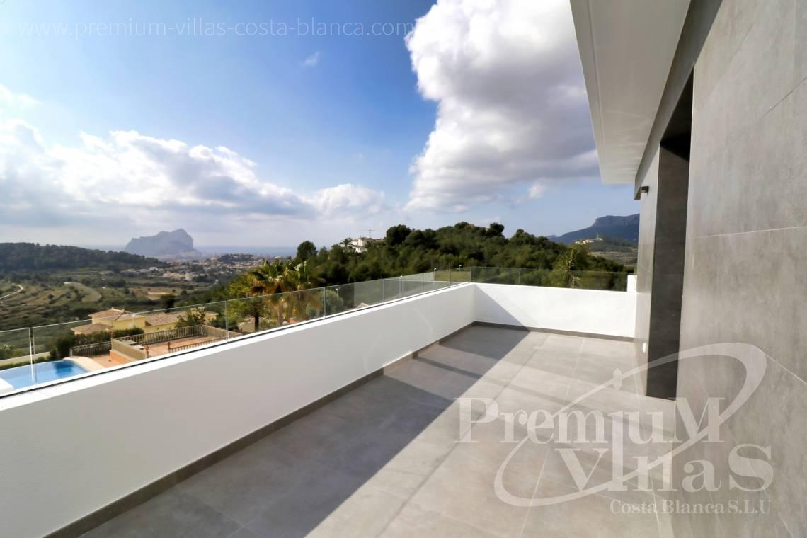 Modern villa with sea views for sale in Calpe Costa Blanca - C2042 - Modern villa for sale in Calpe with nice sea views 7
