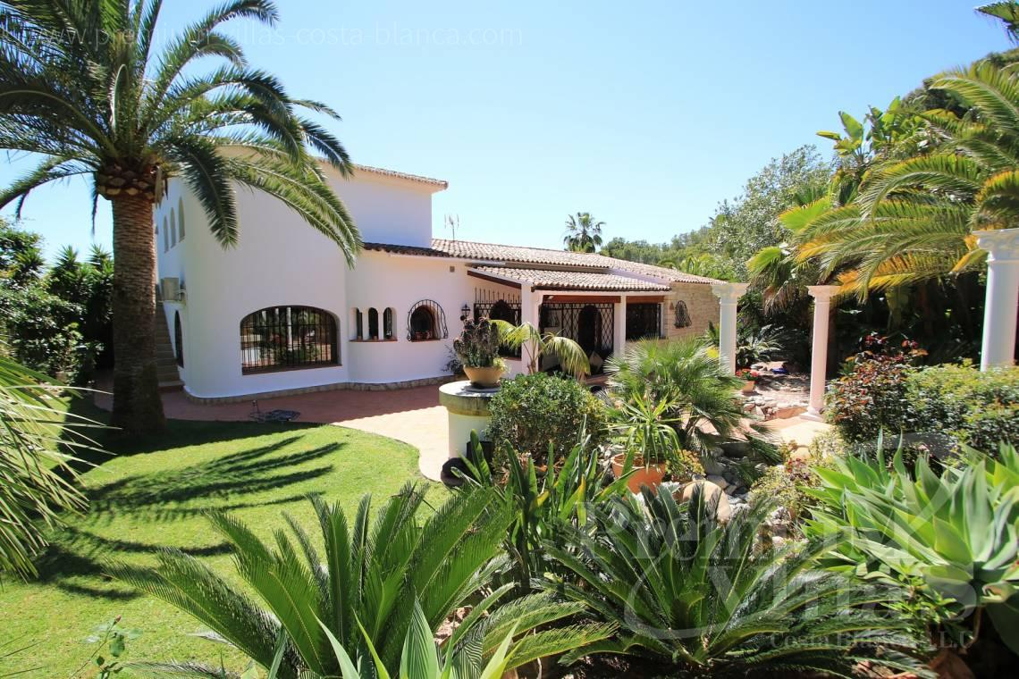 buy finca, land house Benissa Costa Blanca - C2151 - A real paradise on a double plot only 900m from the sea in Benissa 1