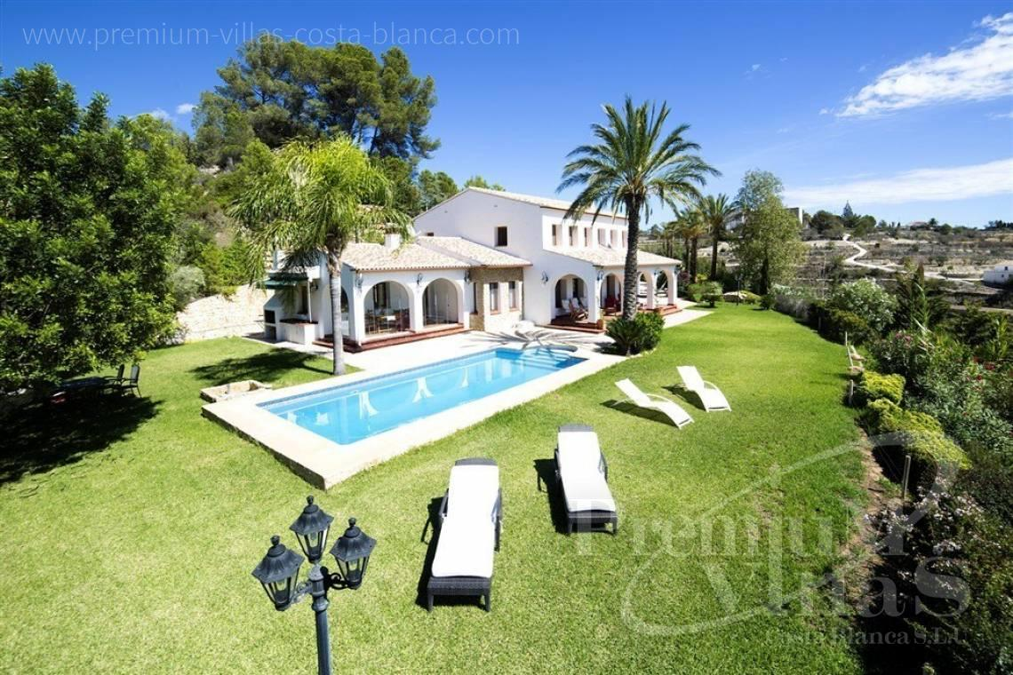 buy finca, land house Benissa Costa Blanca - CB1973 - Finca for sale in Benissa with some sea view 1